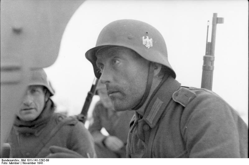 Russland-Mitte, Soldaten der franzцsischen Legion (?)
