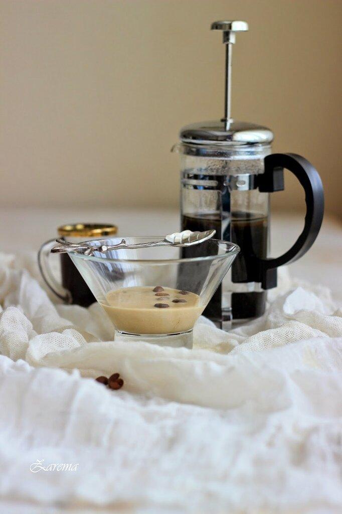 Десерт кофейный с английским кремом