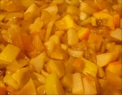 Варенье из яблок и апельсинов