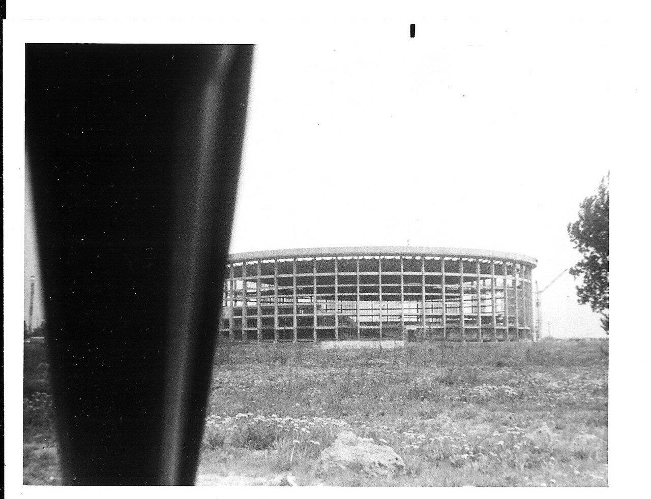 Новый стадион в стадии строительства