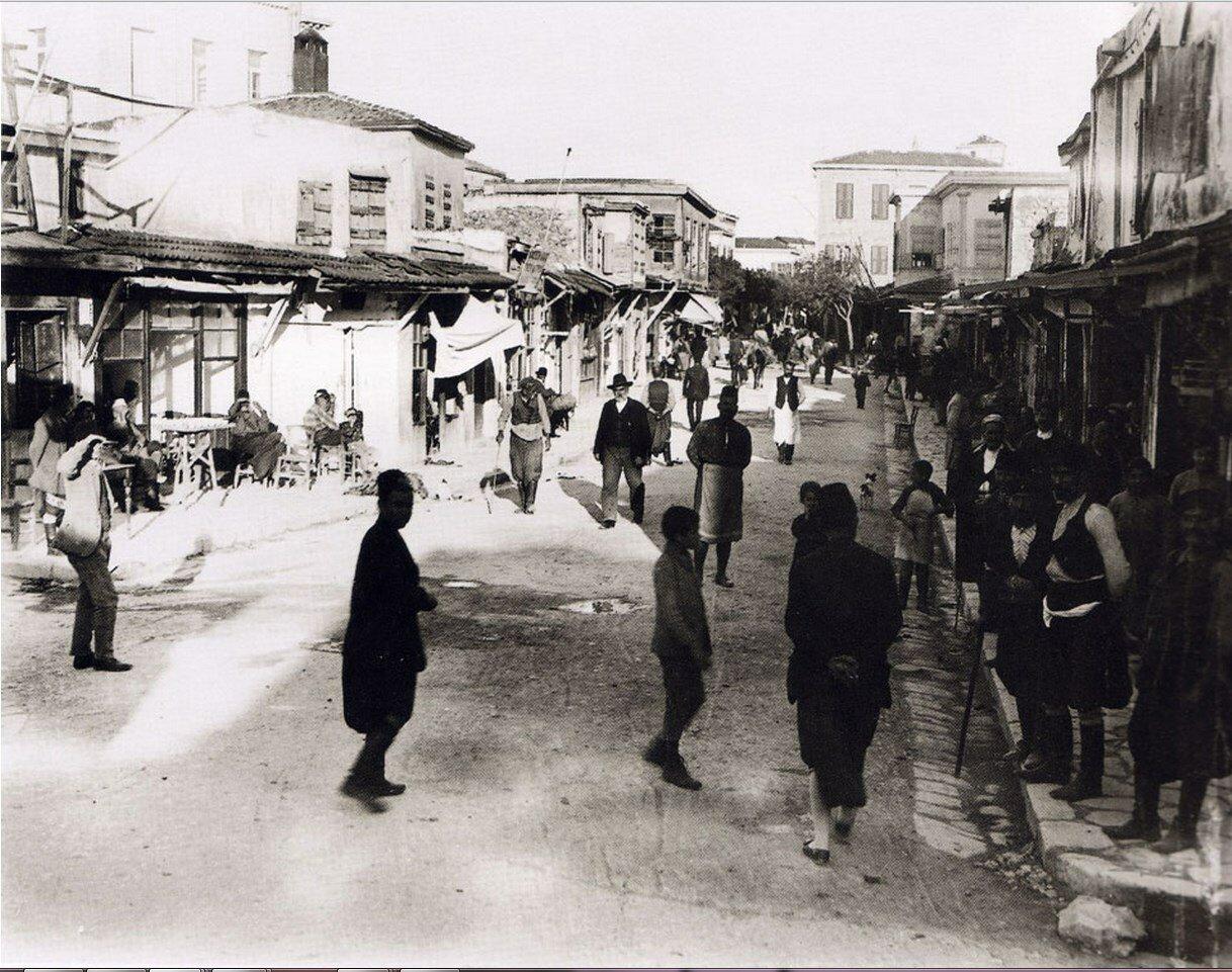1920. Крит, Ираклион. Проспект Калокерину