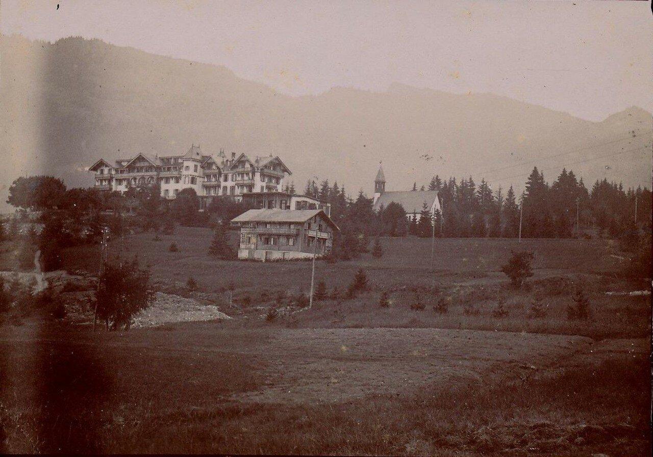 Виллар.  «Grand Hotel Du Muveran»