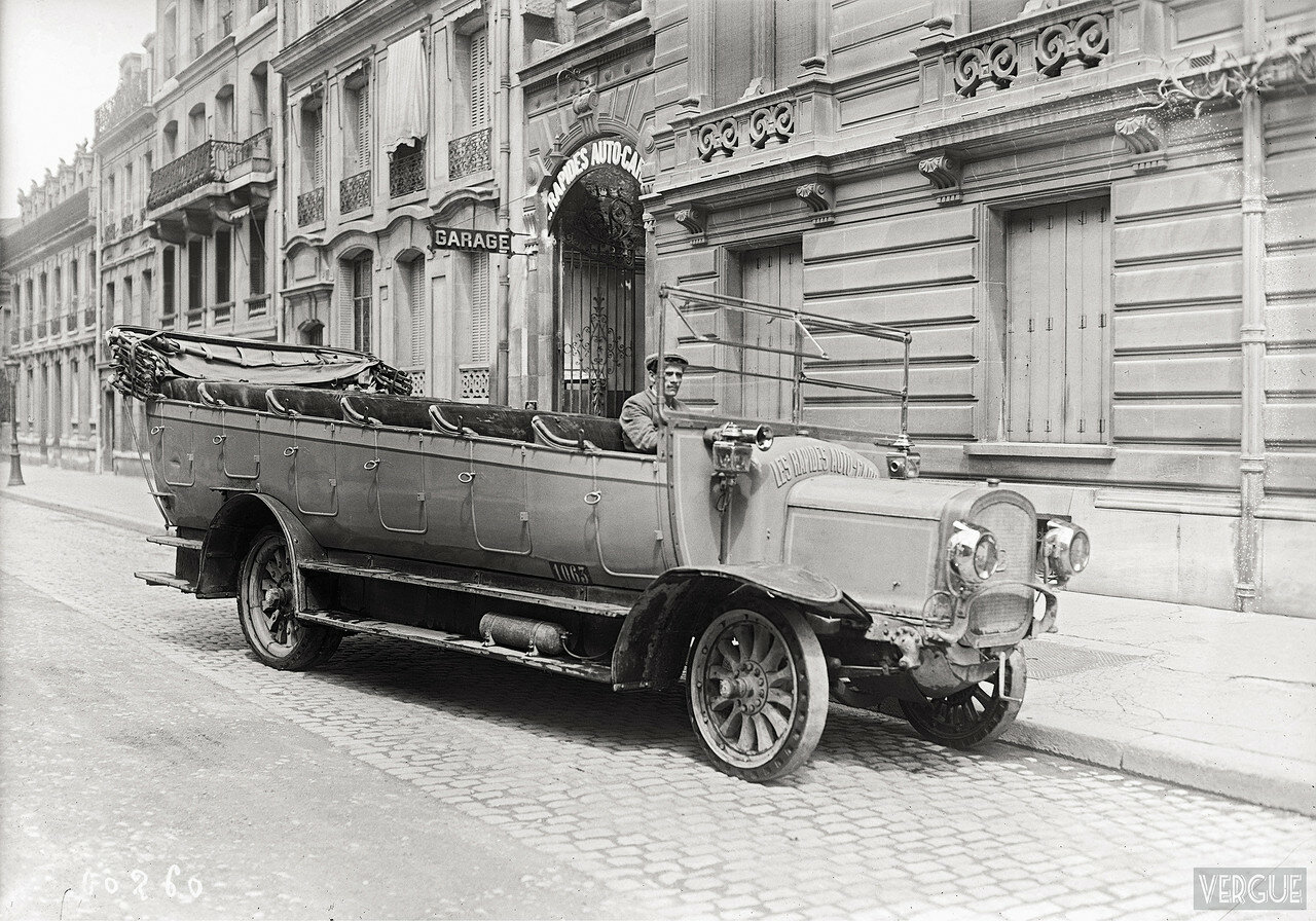 1920. Автомобиль