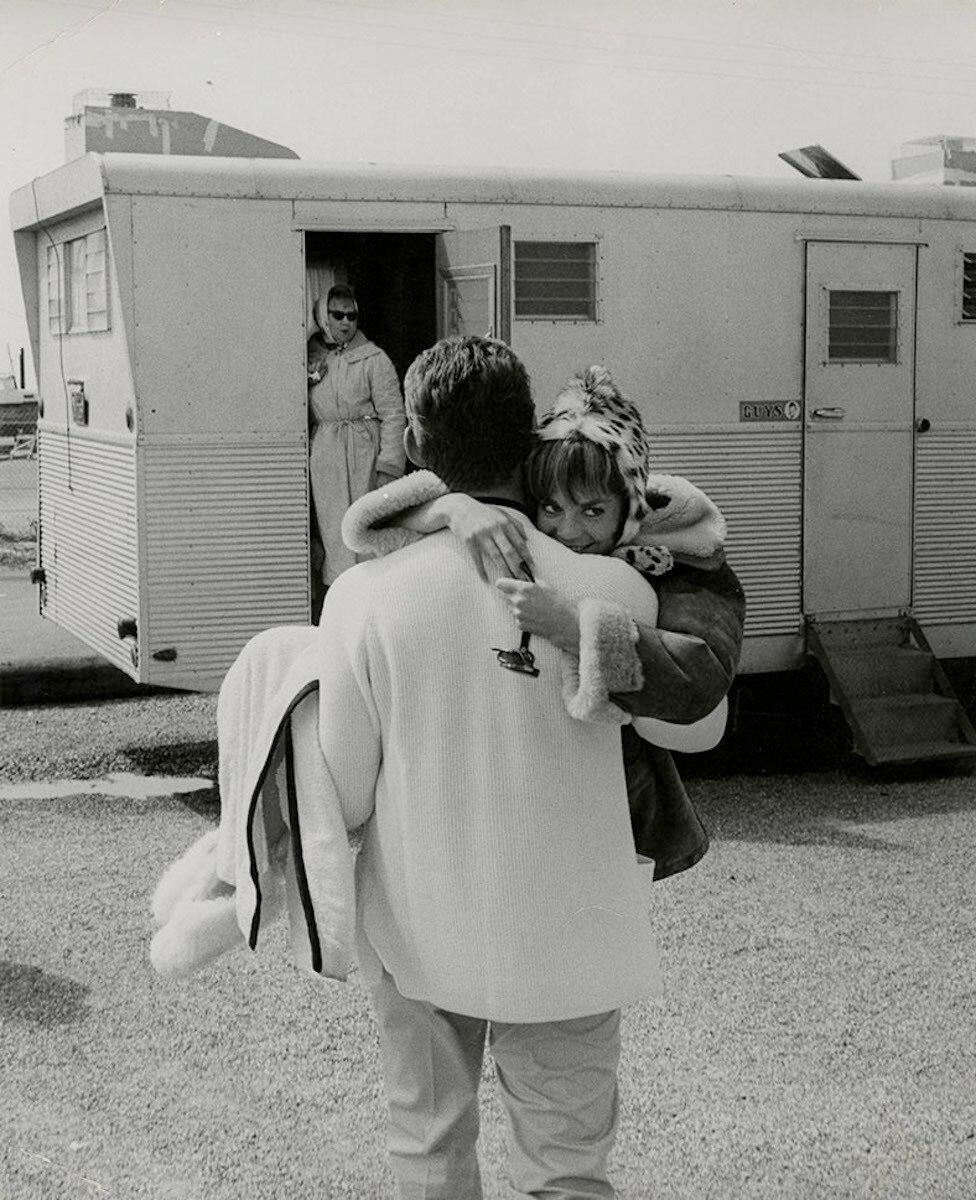 1965. Натали Вуд на съемках «Внутренний мир Дэйзи Кловер»