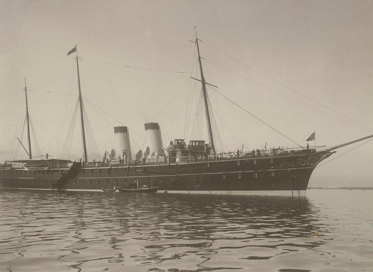04. Императорская яхта «Штандарт» в Ревельском заливе