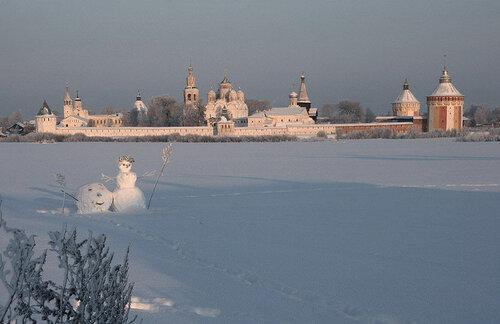 Панорама Спасо-Прилуцкого монастыря.