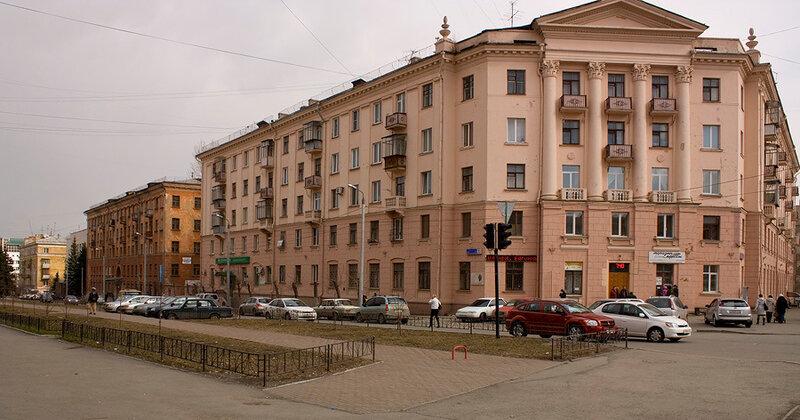 Жилой дом ул. Цвиллинга 55А, Орджоникидзе 31