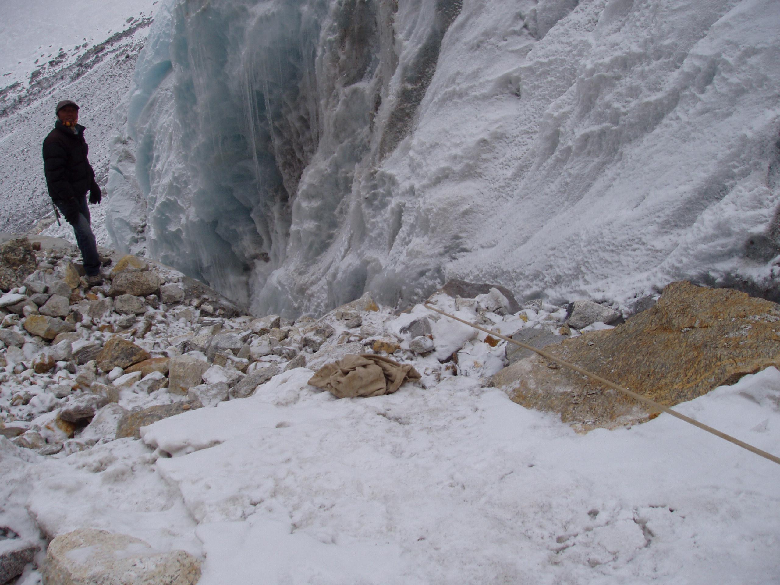Непал, Гималаи, снег и лед