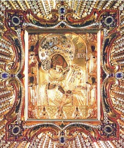 Чудотворная икона Почаевской Божией матери