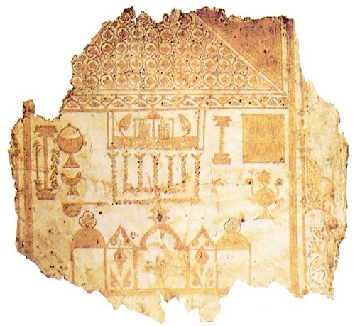Первое Санкт-Петербургское Пятикнижие, фрагмент. Скиния в пустыне029