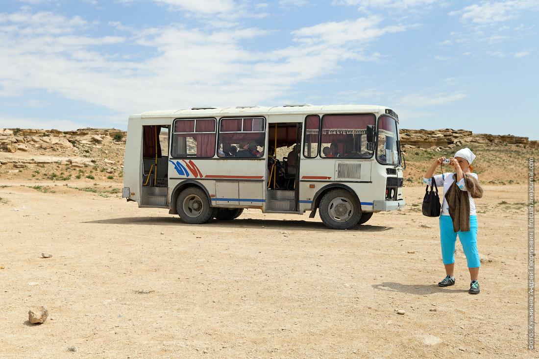 Казахстан автобус ПАЗ