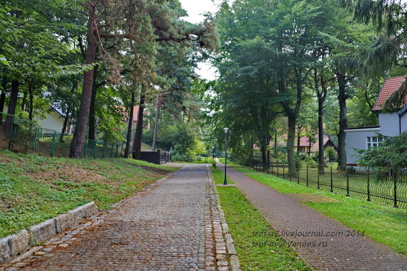 Курортная улица. Светлогорск-Rauschen