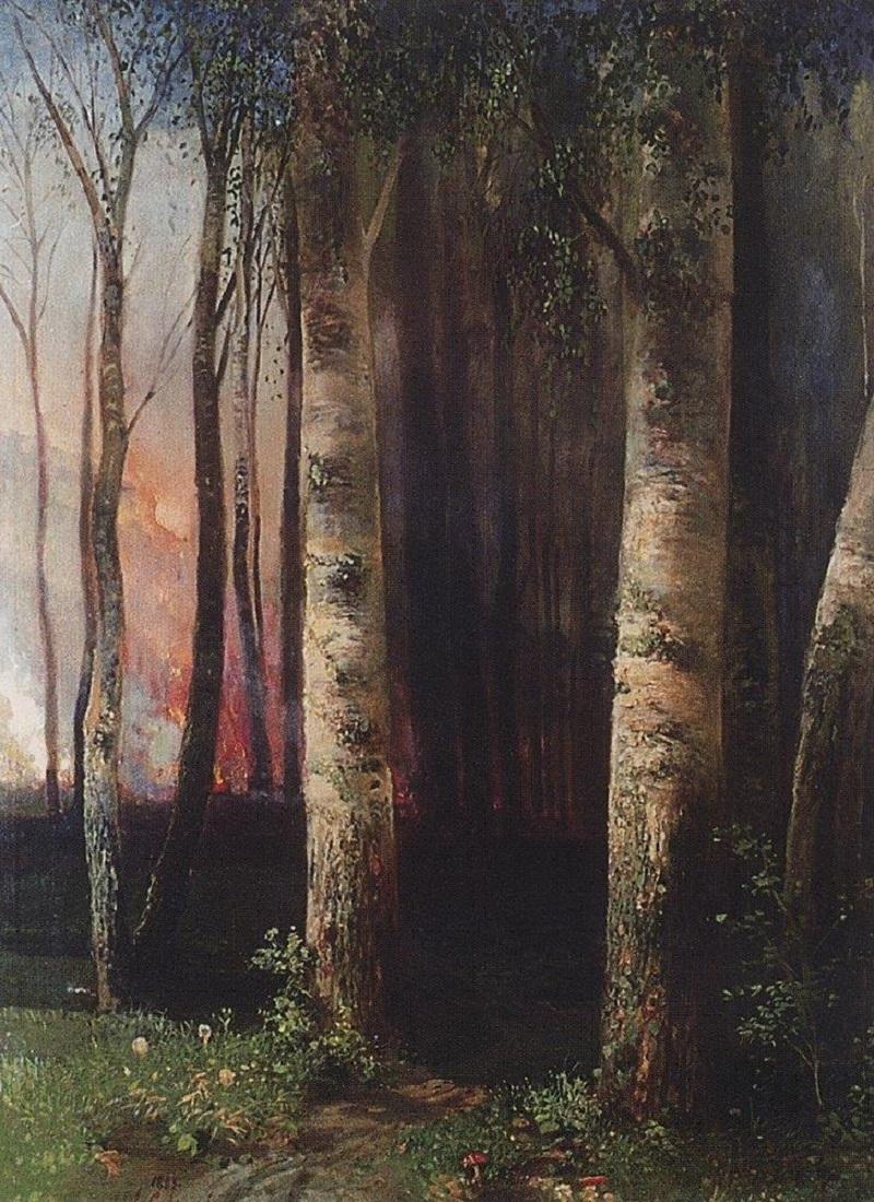 Пожар в лесу, 1883.jpg