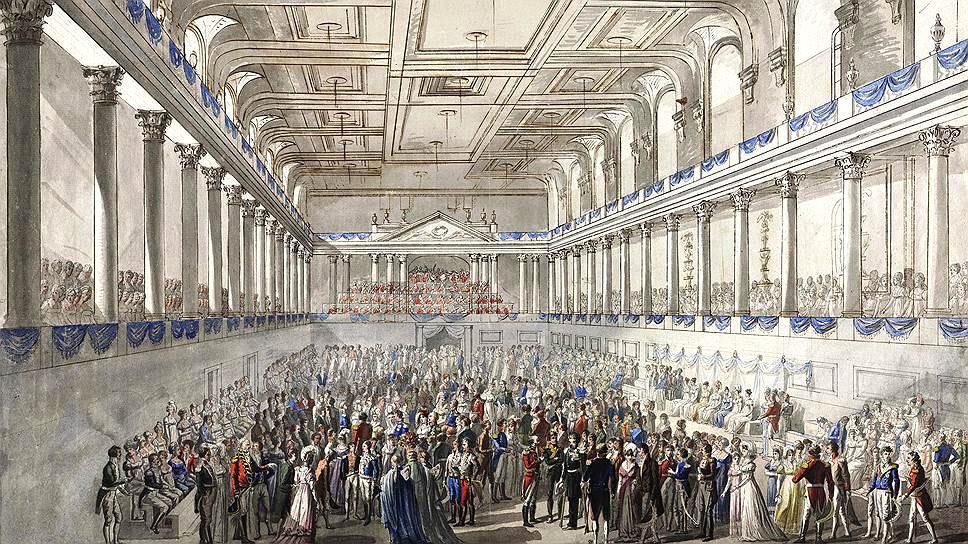 Иоганн Хохле. Бал-маскарад во время Венского конгресса, 1815 год..jpg