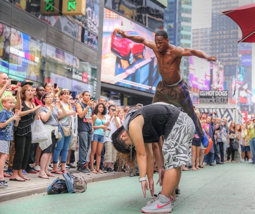 Таймс-Сквер. Автор фото: Кенни Кинг