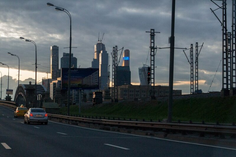 Железная дорога и Москва-сити, Москва