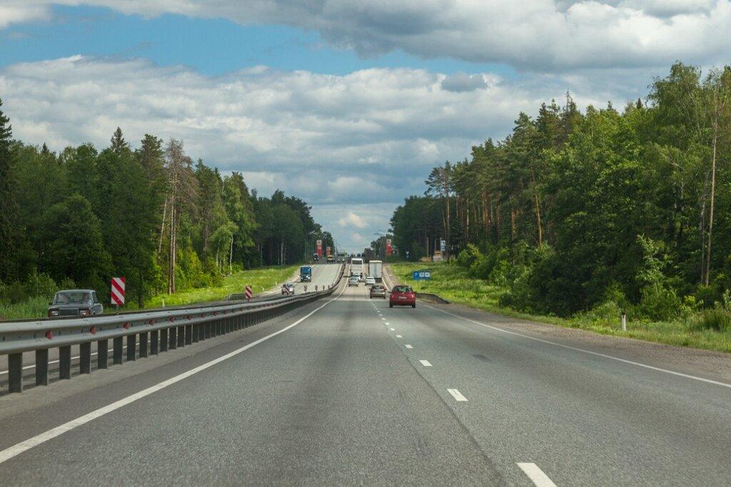 По пути во Владимир, трасса М-7 Волга