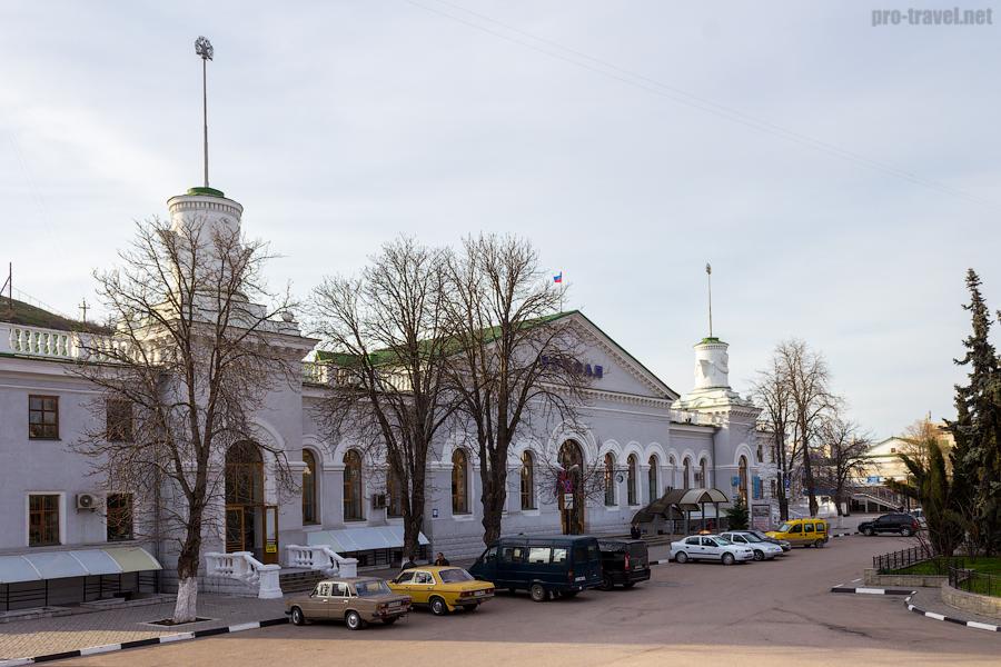 Железнодорожный вокзал Севастополя