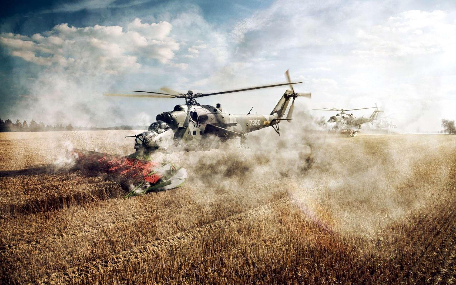 Вертолеты Ми-24: советские комбайны с вертикальным взлетом (2)