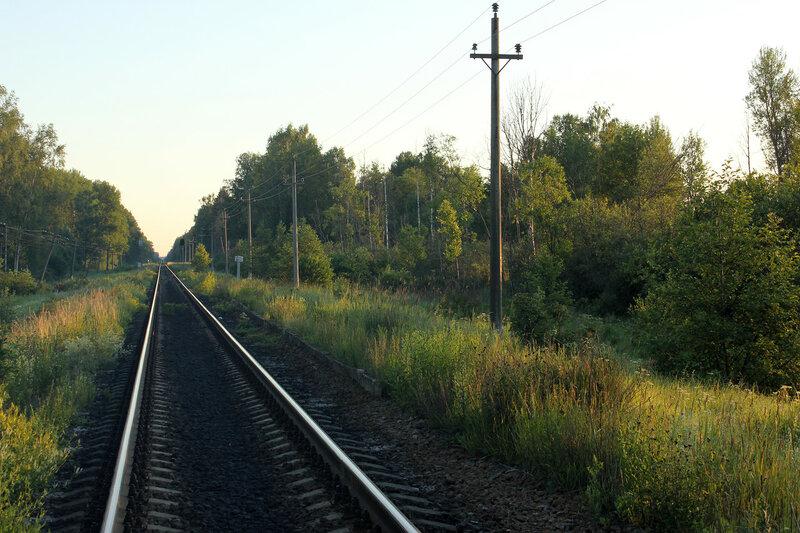 Платформа 147 км на перегоне Рождествено - Ржев-Балтийский