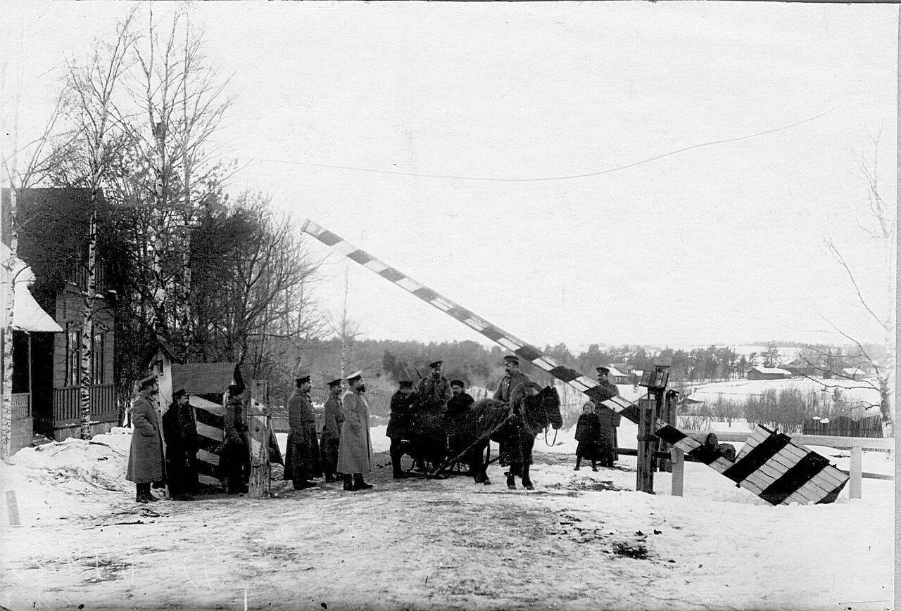 18. Пограничный пост. 1908