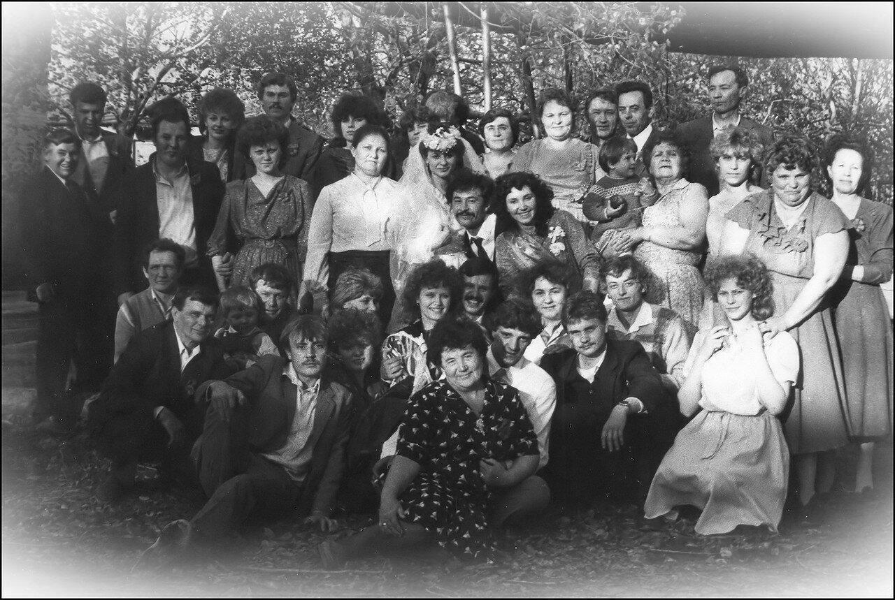 1980-е. Свадьба