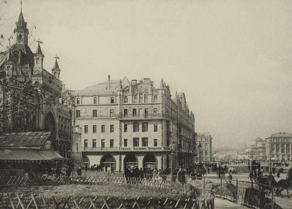 244. Театральный проезд.1905