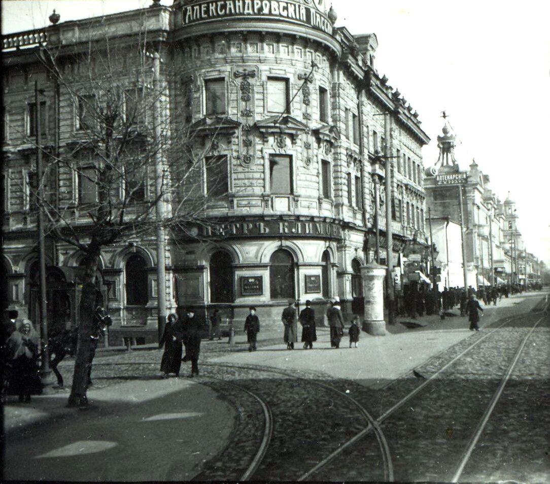 Петропавловская улица. Пассаж