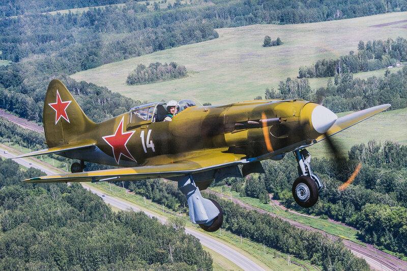 Советский истребитель МиГ-3