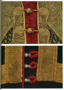 Застежки мужских одежд (Индия, Хорватия), 19 век