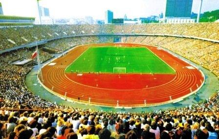 Центральный стадион.Так выглядел он еще недавно...