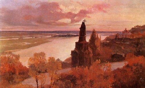 Владимирская горка. Иван Ижакевич, 1913, холст, масло