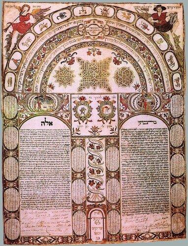 Ктубба (брачный контракт) 1649