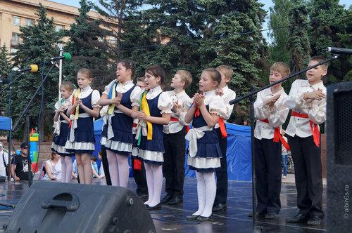 Концерт ко дню защиты детей