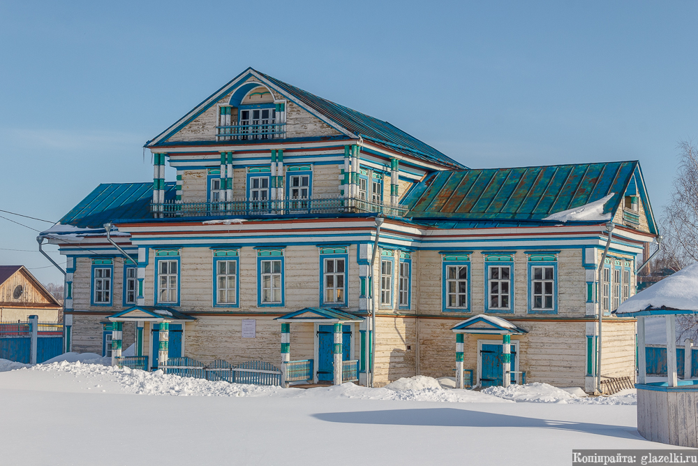 Усадьба купца Даутова в Большой Атне.