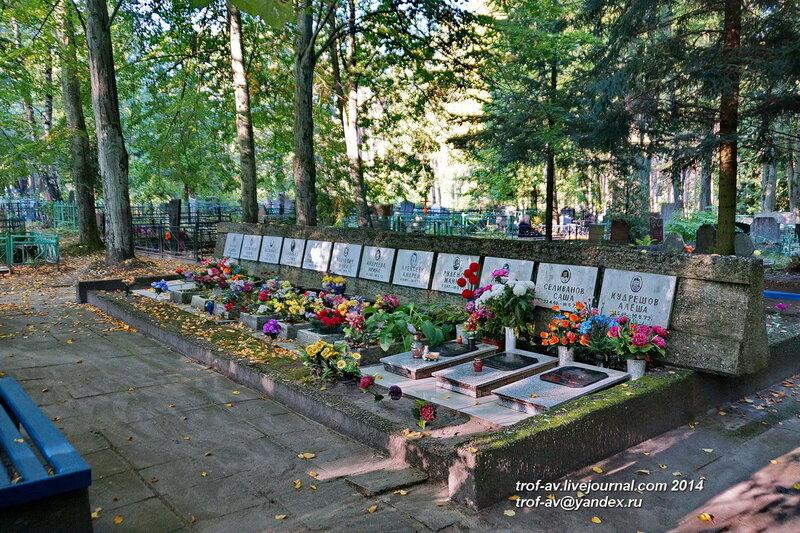Памятник погибшим при падении самолета детям, Старое немецкое кладбище, Светлогорск-Rauschen