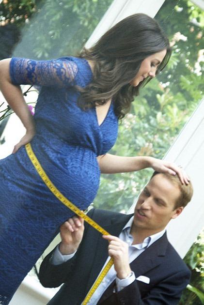 «Фейк Миддлтон» фотографии беременной герцогини