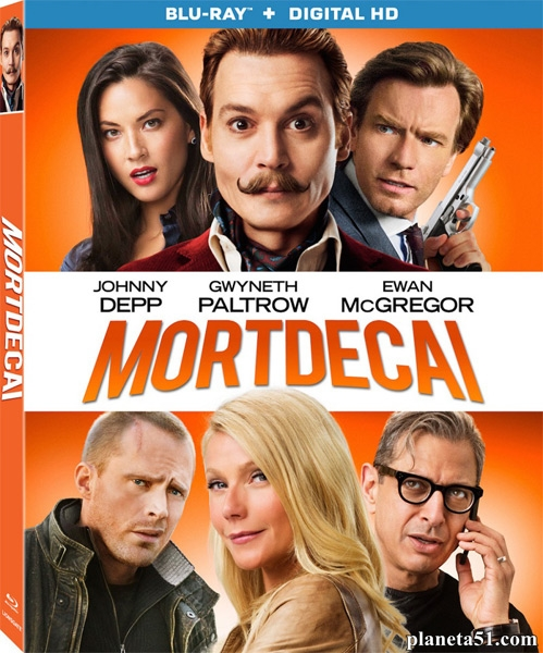 Мордекай / Mortdecai (2015/WEB-DL/WEB-DLRip)