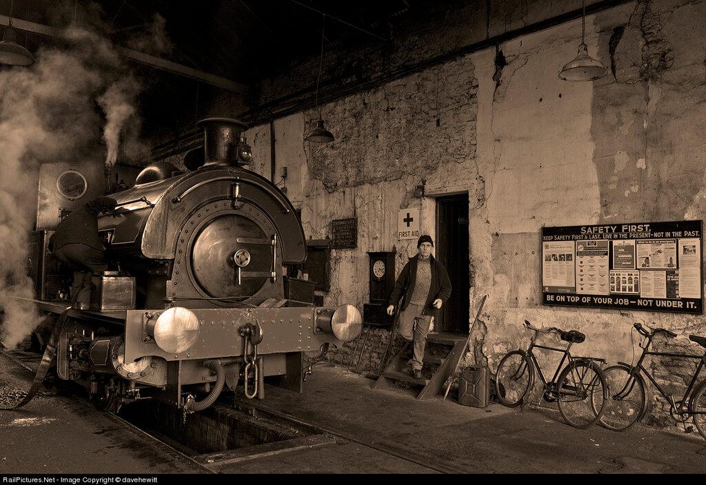 Locomotive Tanfield Railway, Marley Hill, Gateshead, United Kingdom, December 09, 2012