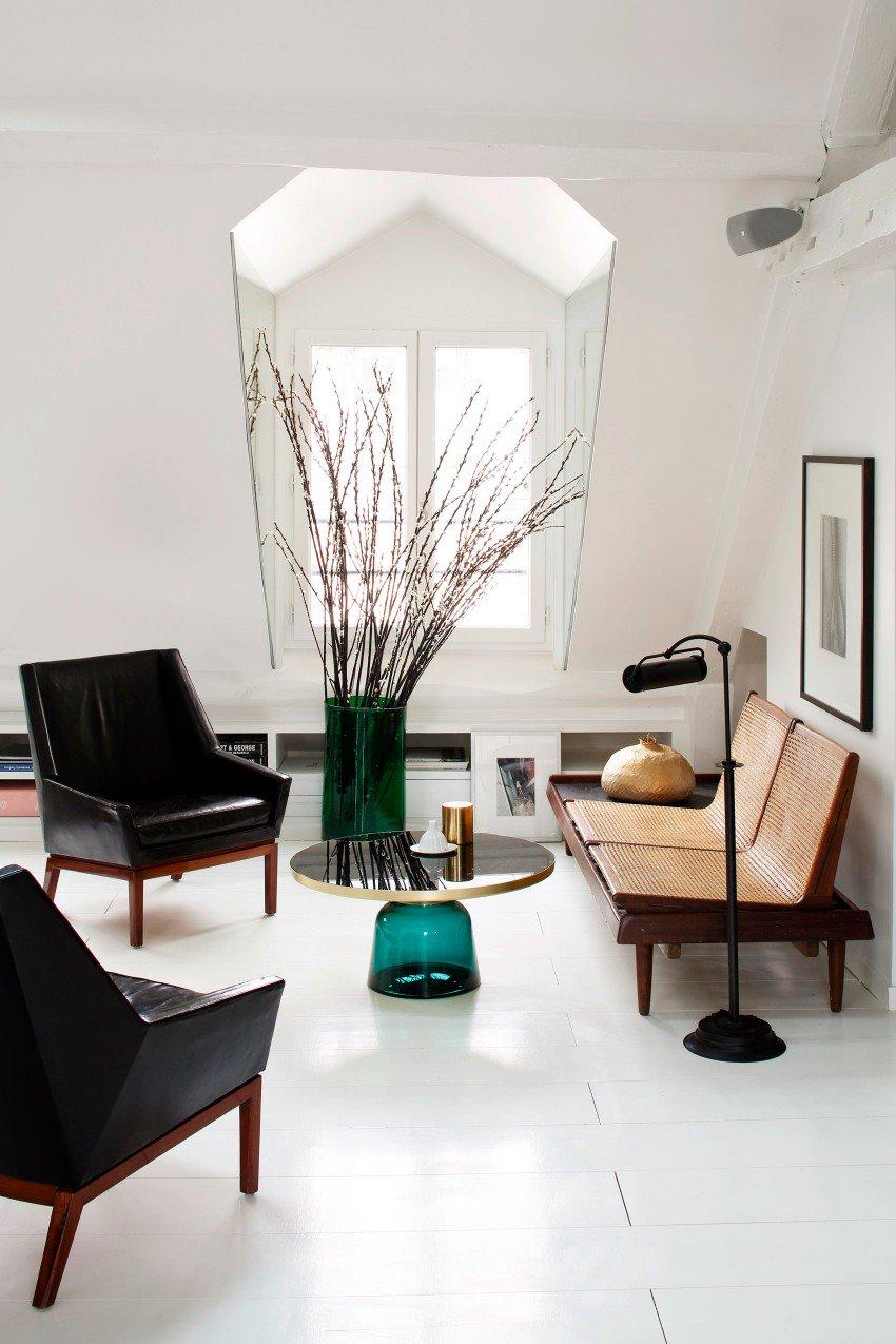 Парижская квартира в светлых тонах с яркими акцентами 4