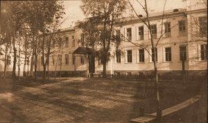 Вид здания госпиталя №1 имени императрицы Марии Фёдоровны.