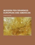 Книга Modern pen drawings - European and American