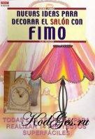 Книга Nuevas ideas para decorar el salon con FIMO