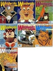 Журнал Creative Woodworks & Crafts № 75-81 2001