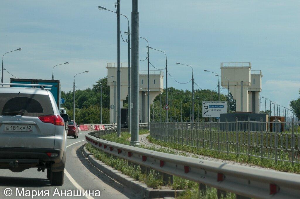 Северная окружная дорога и мост через Трубеж, Рязань
