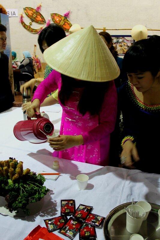 Дегустация азиатских напитков