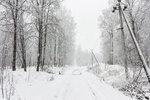 2016.02.01 - Снег и рельсы в Лобне