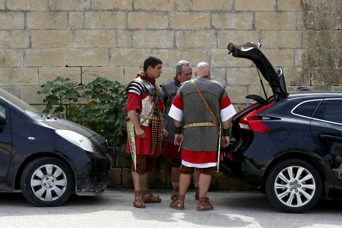Легионеры армии Древнего Рима: Современный вариант попытки захвата острова Мальта (20)
