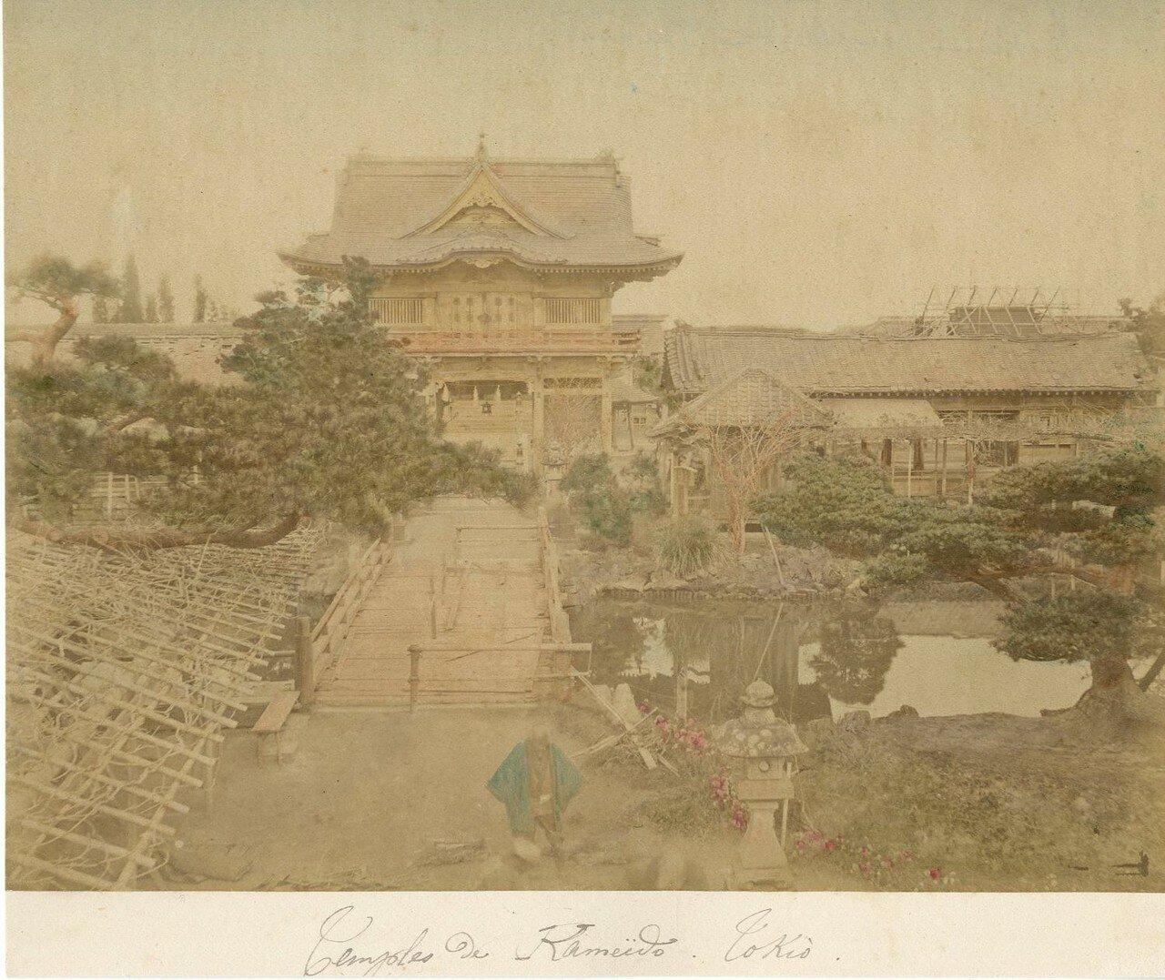 Токио. Храм Камэйдо