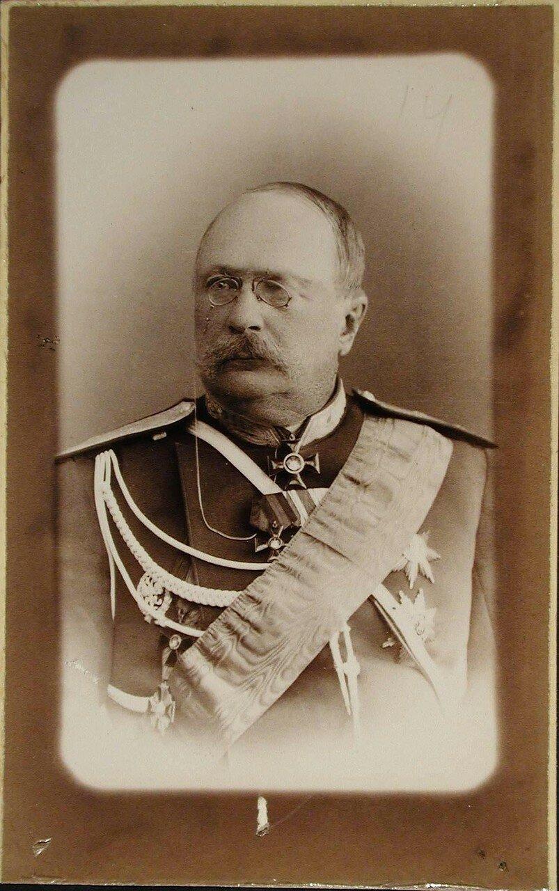 17. Гюббенет Оскар Яковлевич (1835 - 1906) - генерал-лейтенант, генерал штаба, начальник Мобилизационного комитета